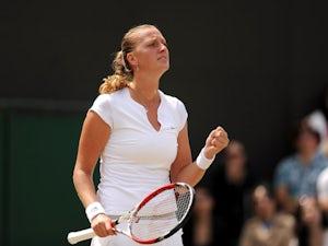 Result: Kvitova eases into quarter-finals
