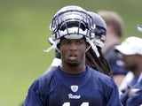 St. Louis Rams wide receiver Tavon Austin during NFL football practice on June 11, 2013
