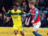 Plymouth Argyle's Jason Banton on the ball during the game against Gillingham on March 9, 2013