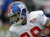 New York Giants' Will Hill in action on July 28, 2012