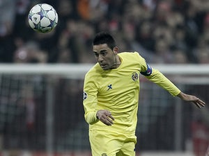Villarreal's Bruno Soriano in action on November 22, 2011