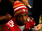 Chris Culliver of the San Francisco 49ers addresses the media on January 31, 2013