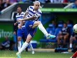 Reading's Danny Guthrie scores the winner against Ipswich on August 3, 2013