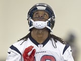 Texans' DeAndre Hopkins at training camp on May 10, 2013
