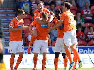 Result: Late Dobbie strike wins it for Blackpool