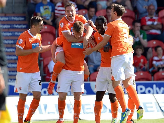 Result: Blackpool beat Reading at Bloomfield Road