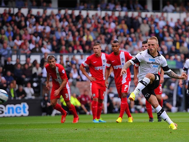 Result: Late Best equaliser seals Derby draw