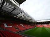 A general view of The Kop stand at Anfield home of Liverpool FC taken October 20, 2012