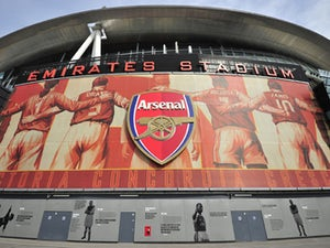 General view outside the Emirates Stadium before the English Premier League football match between Arsenal and Bolton Wanderers on September 24, 2011