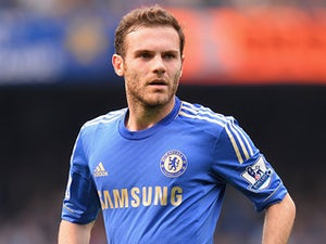 Chelsea's Juan Mata in action against Everton on May 19, 2013
