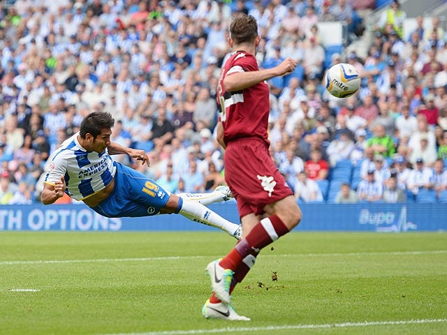Result: Late Ulloa strike rescues point for Brighton