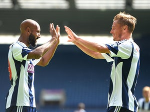 Result: Anelka scores in Albion win