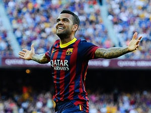 Alves booed at Camp Nou