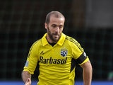 Columbus Crew's Federico Higuain in action on April 6, 2013