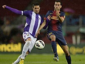 Busquets rejoins Barcelona training
