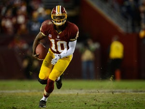 RG3: 'I'm not worried about getting hit'