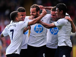 Team News: Eight changes for Spurs