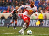 New York Red Bulls' Thierry Henry in action on March 16, 2013