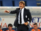Antonio Conte head coach of Juventus during the TIM Supercup match between SS Lazio and FC Juventus at Olimpico Stadium on August 18, 2013