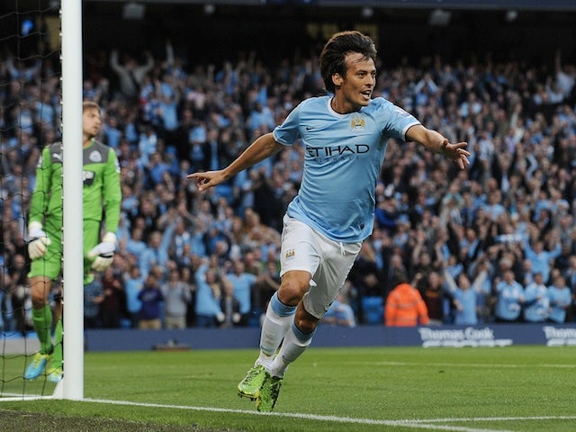 Result: Man City thrash 10-man Newcastle