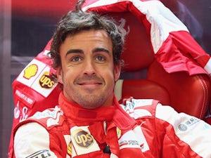Alonso congratulates