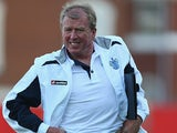 QPR assistant coach Steve McClaren during a friendly match against Exeter on July 11, 2013
