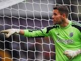 West Bromwich Albion goalkeeper Ben Foster during the Premier League match against Southampton on August 17, 2013