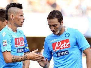 Result: Napoli close gap on leaders Roma