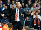 Manchester United's Scottish manager David Moyes reacts during the English Premier League football match between Liverpool and Manchester United at the Anfield stadium in Liverpool, northwest England, on September 1, 2013