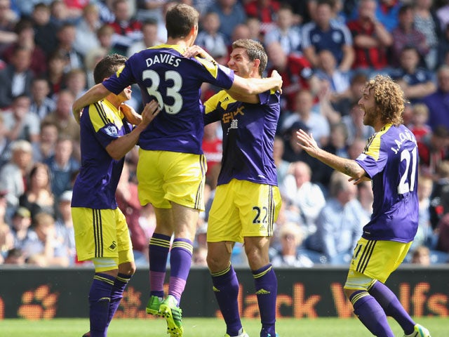 Result: Swans ease past West Brom