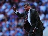 West Ham United manager Sam Allardyce shouts on the touchline during the Barclays Premier League match between West Ham United and Stoke City at the Bolyen Ground on August 31, 2013