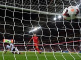 Danny Welbeck of England scores their third goal during the FIFA 2014 World Cup Qualifying Group H match between England and Moldova at Wembley Stadium on September 6, 2013