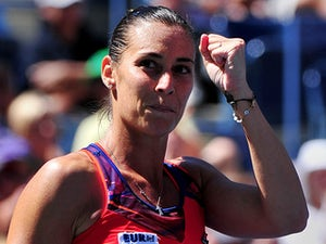 Result: Pennetta reaches first Grand Slam semi