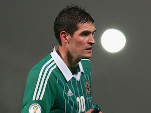 Half-Time Report: Lafferty at the double for Northern Ireland