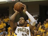 Pacers' Danny Granger in action on May 24, 2012