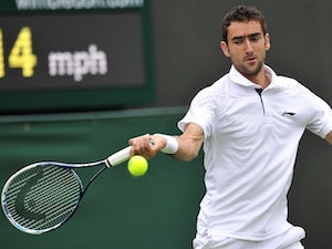 Result: Cilic returns with a win in Paris