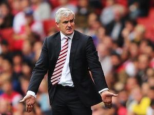 Hughes frustrated by Stoke naivety