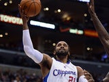 Los Angeles Clippers' Ronny Turiaf in action against Portland Trail Blazers on January 27, 2013