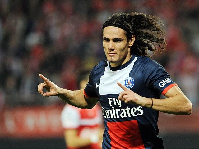 Result: Cavani gives PSG win over Valenciennes