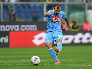 Half-Time Report: Pandev, Inler put Napoli in control