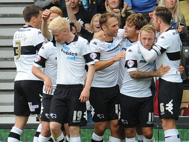 Result: Late Martin strike hands Derby win
