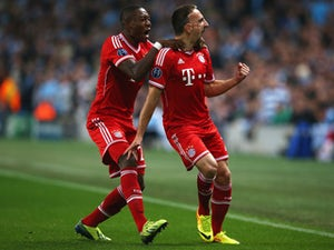 Ribery frustrated by missed chances