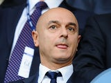 Tottenham chairman and businessman Daniel Levy looks on prior to the Barclays Premier League match between Tottenham Hotspur and West Ham United at White Hart Lane on October 6, 2013