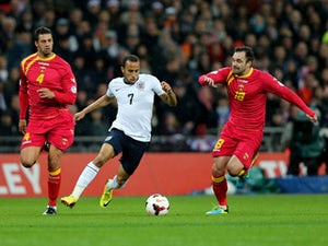 Half-Time Report: England being held at Wembley