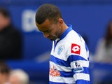 Jose Bosingwa of Queens Park Rangers looks dejected during the Barclays Premier League match between Queens Park Rangers and Newcastle United at Loftus Road on May 12, 2013