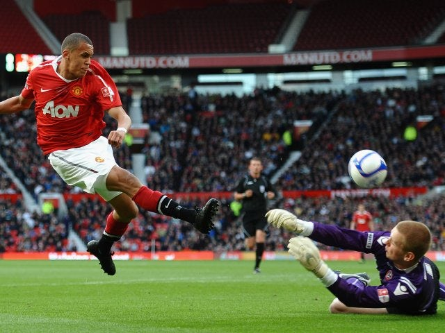Ravel Morrison playing for Manchester United's youth side in 2011.