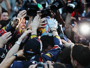 Alonso concedes title to Vettel