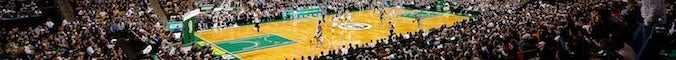 Boston Celtics' TD Garden during a match against the San Antonio Spurs on November 21, 2012