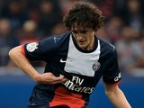 Paris Saint-Germain's French midfielder Adrien Rabiot passes the ball during the French L1 football match between Paris Saint-Germain and Toulouse on September 27, 2013