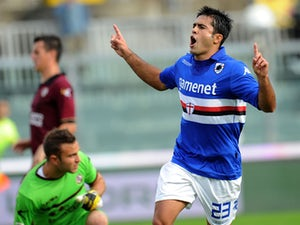 Result: Sampdoria narrowly beat 10-man Atalanta